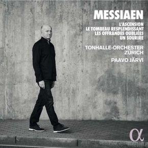 L'ascension - CD / Messiaen / Jarvi / Tonhalle Orchester Zurich / 2019