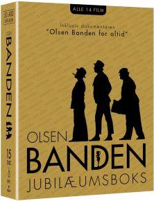 Olsen Banden Box 50 Års Jubilæumsboks - 15 Blu-Ray / Olsen Banden | Erik Balling / 2018