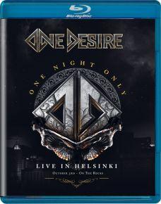 One Night Only: Live In Helsinki - Blu-Ray / One Desire / 2021