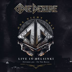 One Night Only: Live In Helsinki - CD+DVD / One Desire / 2021