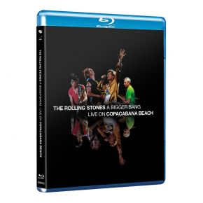 A Bigger Bang: Live On Copacabana Beach - Blu-Ray / The Rolling Stones / 2007/2021