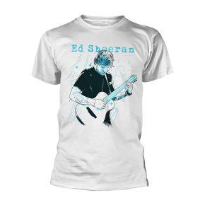 Ed Sheeran Guitar Line Illustration T-Shirt / Ed Sheeran