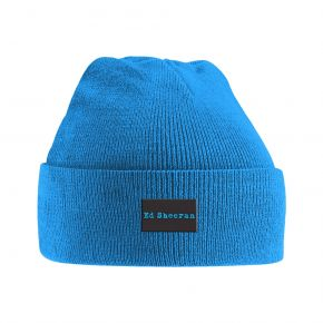 Ed Sheeran Logo Knitted Ski Hat / Ed Sheeran