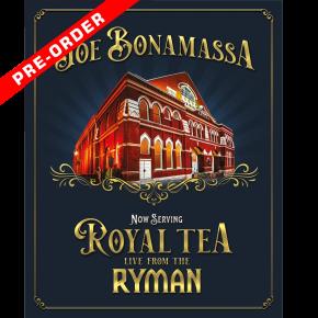 Now Serving: Royal Tea Live from the Ryman - DVD / Joe Bonamassa / 2021