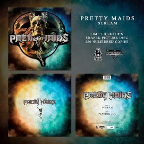 "Scream - 12"" Shaped Picture Disc / Pretty Maids / 2020"