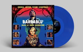 Barbablu' (Bluebeard) OST - LP (RSD 2017 Blå Vinyl) / Ennio Morricone   Soundtrack / 1972 / 2017