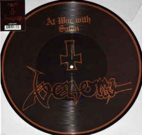At War With Satan - LP (RSD 2017 Picture Disc Vinyl) / Venom / 1984 / 2017