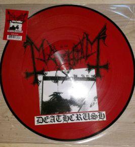 Deathcrush - LP (RSD 2017 Picture Disc Vinyl) / Mayhem / 1987 / 2017