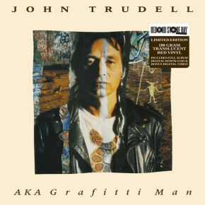 AKA Grafitti Man - LP (RSD 2017 Rød Vinyl) / John Trudell / 1992 / 2017