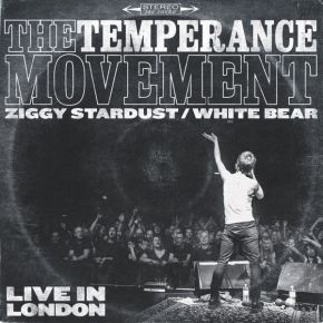 "Ziggy Stardust / White Bear - 7"" (RSD 2017 Vinyl) / The Temperance Movement / 2017"