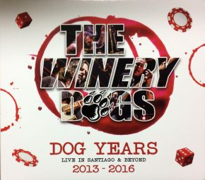 Dog Years - Live in Santiago & Beyond 2013-2016 - CD+DVD / The Winery Dogs / 2017