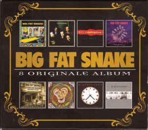 8 Originale Album - 8CD / Big Fat Snake / 2009
