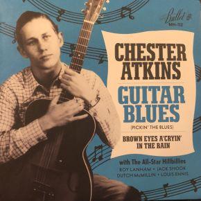 "Guitar Blues - 7"" (RSD 2017 Black Friday Blå Vinyl) / Chester Atkins / 2017"
