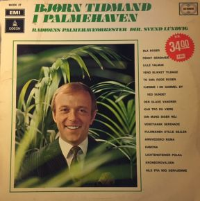 I Palmehaven - LP / Bjørn Tidmand  / 1970