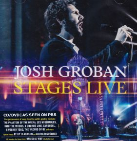 Stages Live - CD + DVD / Groban, Josh / 2016