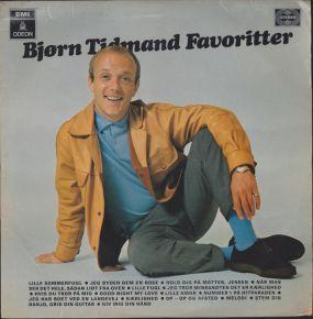 Bjørn Tidmand Favoritter - LP / Bjørn Tidmand / 1968