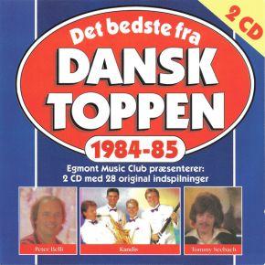 Det Bedste Fra Dansktoppen 1984-85 - 2CD / Various Artists / 1996