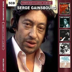 Timeless Classic Albums - 5CD (Boxset) / Serge Gainsbourg / 2017