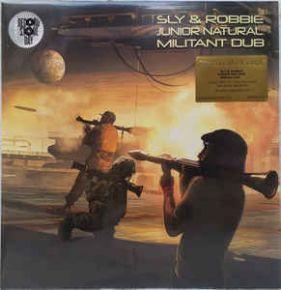 Militant Dub - LP (RSD 2018 Guld Vinyl) / Sly & Robbie & Junior Natural / 2018