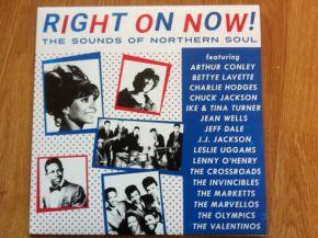Right On Now! The Sounds Of Northern Soul - LP (RSD 2018 Hvid Med Blå/Rød Vinyl) / Various Artists / 2018