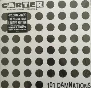 101 Damnations - LP (RSD 2018 Farvet vinyl) / Carter The Unstoppable Sex Machine / 1990 / 2018