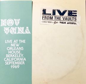 Live At The New Orleans House 1969 - 2LP (RSD 2018 Vinyl) / Hot Tuna / 2018