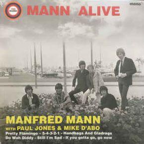 Mann Alive - LP (RSD 2018) / Manfred Mann With Paul Jones & Mike D'Abo / 2018