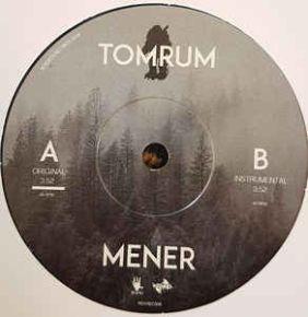 "Mener - 7"" Vinyl / Tomrum / 2018"