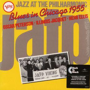 Blues In Chicago 1955 - LP / Oscar Peterson, Illinois Jacquet & Herb Ellis  / 1983 / 2018