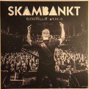 Rockefeller 09.03.18 - LP (Hvid vinyl) / Skambankt / 2018