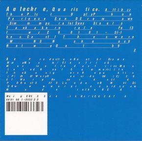 Quaristice - CD / Autechre / 2008