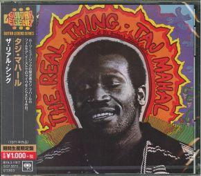 The Real Thing - CD (Japansk Import) / Taj Mahal / 1971 / 2018