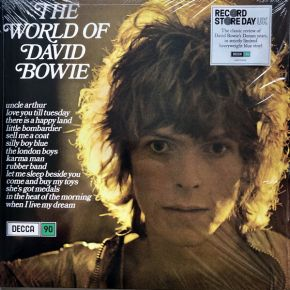 The World of David Bowie - LP (RSD 2019 Blå Vinyl) / David Bowie / 1970 / 2019