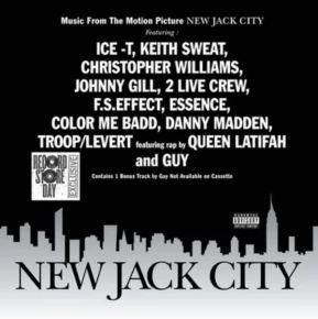 New Jack City - LP (Sølv vinyl) / Soundtracks | Various Artists / 1991 / 2019