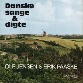 Danske Sange & Digte - LP / Ole Jensen & Erik Paaske / 1976