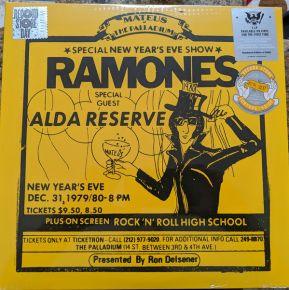 Live At The Palladium, New York 12/31/79 - 2LP (RSD 2019 vinyl) / Ramones / 2019