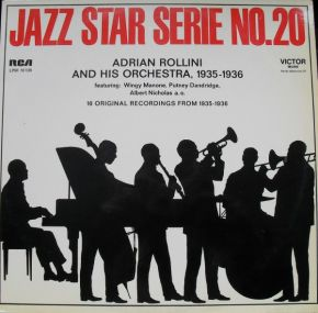 Jazz Star Serie – No. 20 - LP / Adrian Rollini And His Orchestra, 1935-1936