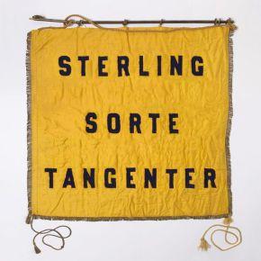 """Sorte Tangenter - 10"""" Gul Vinyl / Sterling / 2019"""