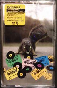 Squirrel Tape Instrumentals Vol. 1 - Kassettebånd (Orange) / Evidence / 2019