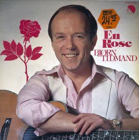 En Rose - LP / Bjørn Tidmand / 1980
