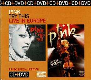 Try This | Live In Europe - CD+DVD / Pink / 2008
