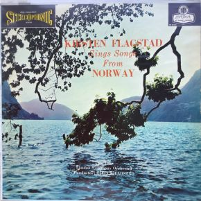 Songs From Norway - LP / Kirsten Flagstad, London Symphony Orchestra, Øivin Fjeldstad / 1960