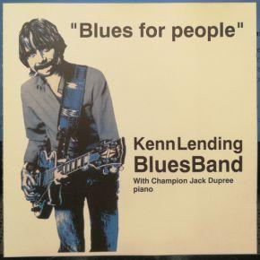 Blues For People - CD / Kenn Lending Blues Band  / 1994