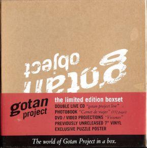 "Gotan Object - 2CD+DVD+7"" single (Box) / Gotan Project / 2008"