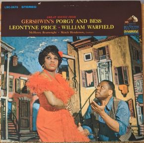 Great Scenes From Porgy And Bess - LP / Gershwin / Leontyne Price, William Warfield ‎ / 1963