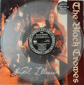 "Hotel Illness - 12"" Vinyl (farvet vinyl) / The Black Crowes / 1992"