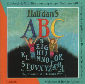 Halfdans ABC - CD / Elisabeth & Otto Brandenburg  / 1995