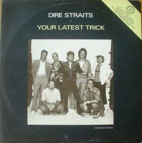 """Your Latest Trick - Vinyl 12"""" / Dire Straits / 1986"""