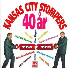 40 År 1951 - 1991 - CD /  Kansas City Stompers  / 1991