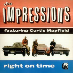 Right On Time - LP / The Impressions  / 1983